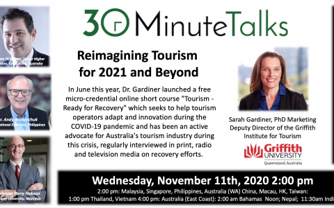 Reimagining Tourism for 20201 and Beyond Nov 11 2020